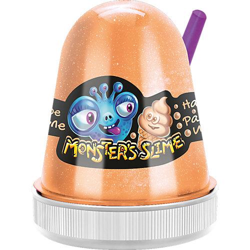 Слайм Monster Slime Мороженое крем-брюле, 130 гр от KiKi
