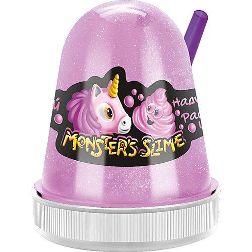 Слайм Monster Slime Нежный Зефир розовый, 130 гр от KiKi
