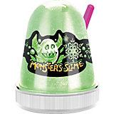 Слайм Monster Slime Цветной Лед, зеленый, 130 гр
