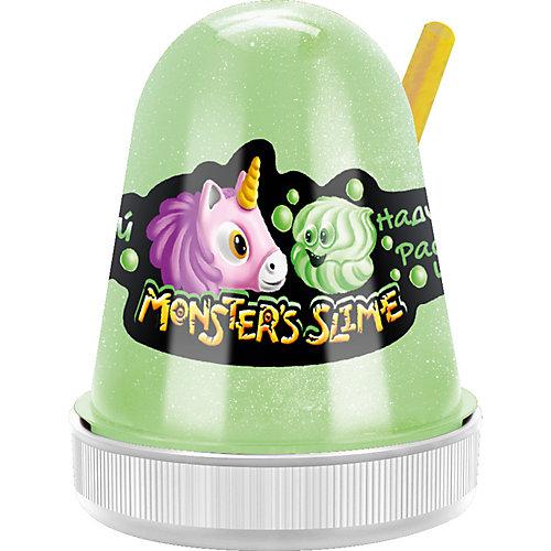 Слайм Monster Slime Нежный Зефир зеленый, 130 гр от KiKi