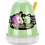 Слайм Monster Slime Нежный Зефир зеленый, 130 гр