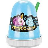 Слайм Monster Slime Нежный Зефир голубой, 130 гр