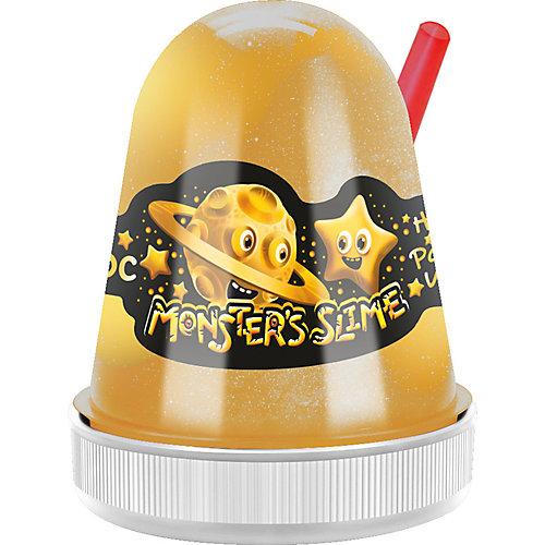 Слайм Monster Slime Золотой Космос, 130 гр от KiKi