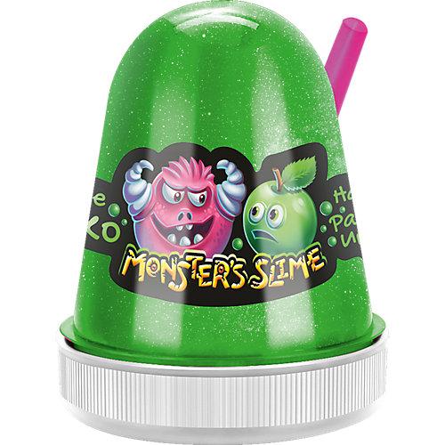 Слайм Monster Slime Сочное Яблоко, 130 гр от KiKi