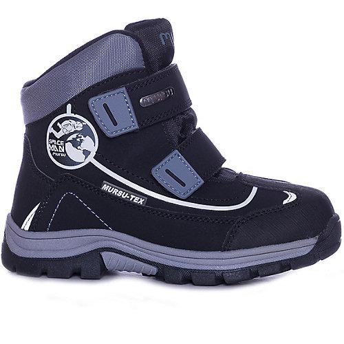 Утеплённые ботинки Mursu - черный от MURSU