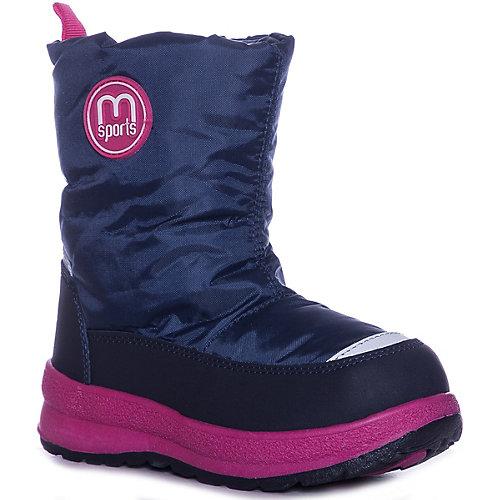Дутики Mursu - pink/blau от MURSU