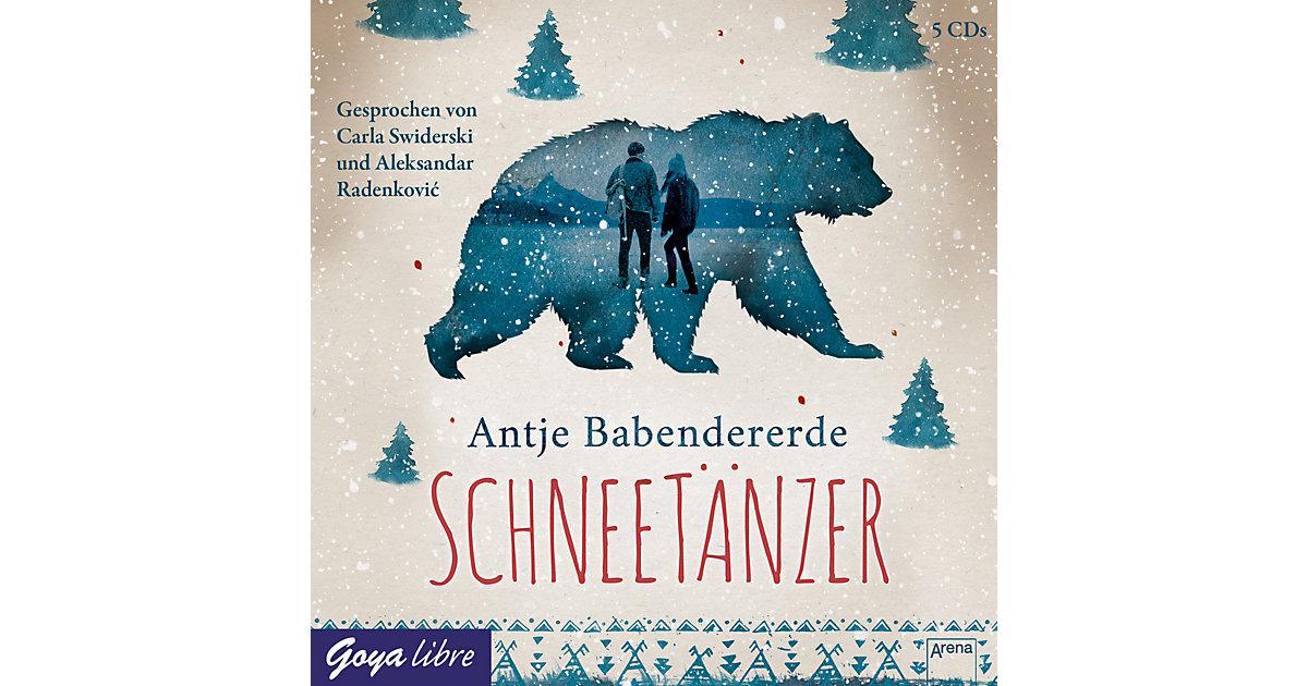 Schneetänzer, 5 Audio-CDs Hörbuch
