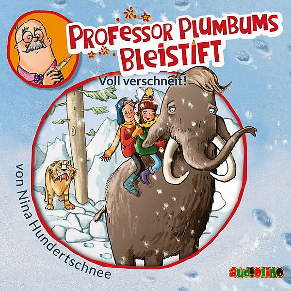 Professor Plumbums Bleistift: Voll verschneit!, 1 Audio-CD