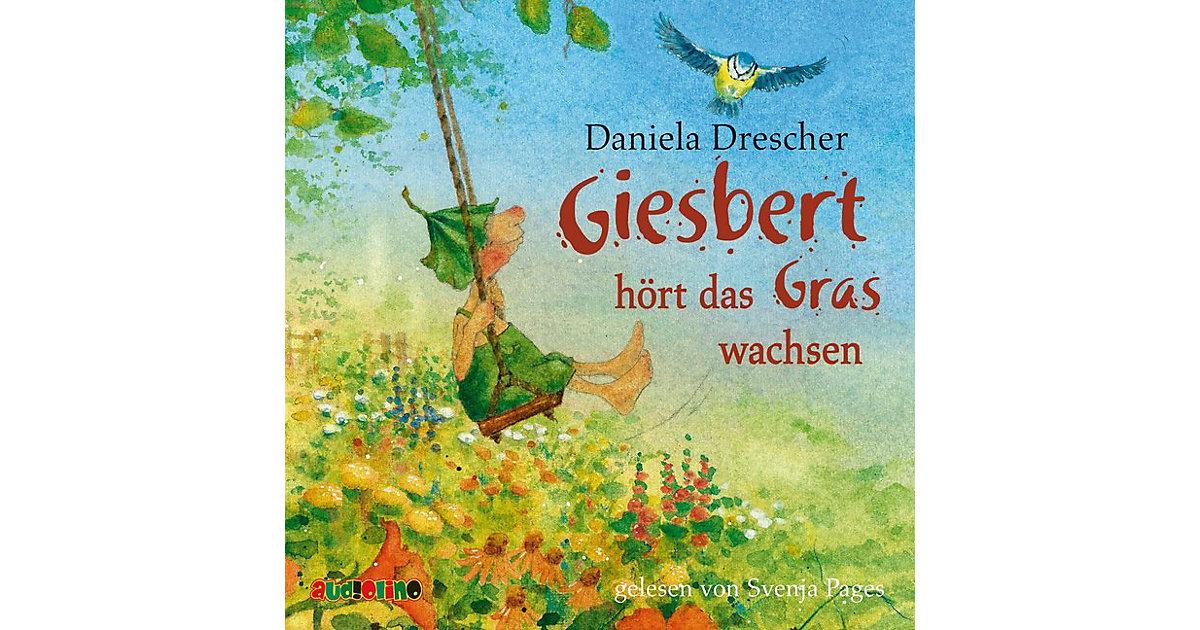 Giesbert hört das Gras wachsen, 1 Audio-CD Hörbuch