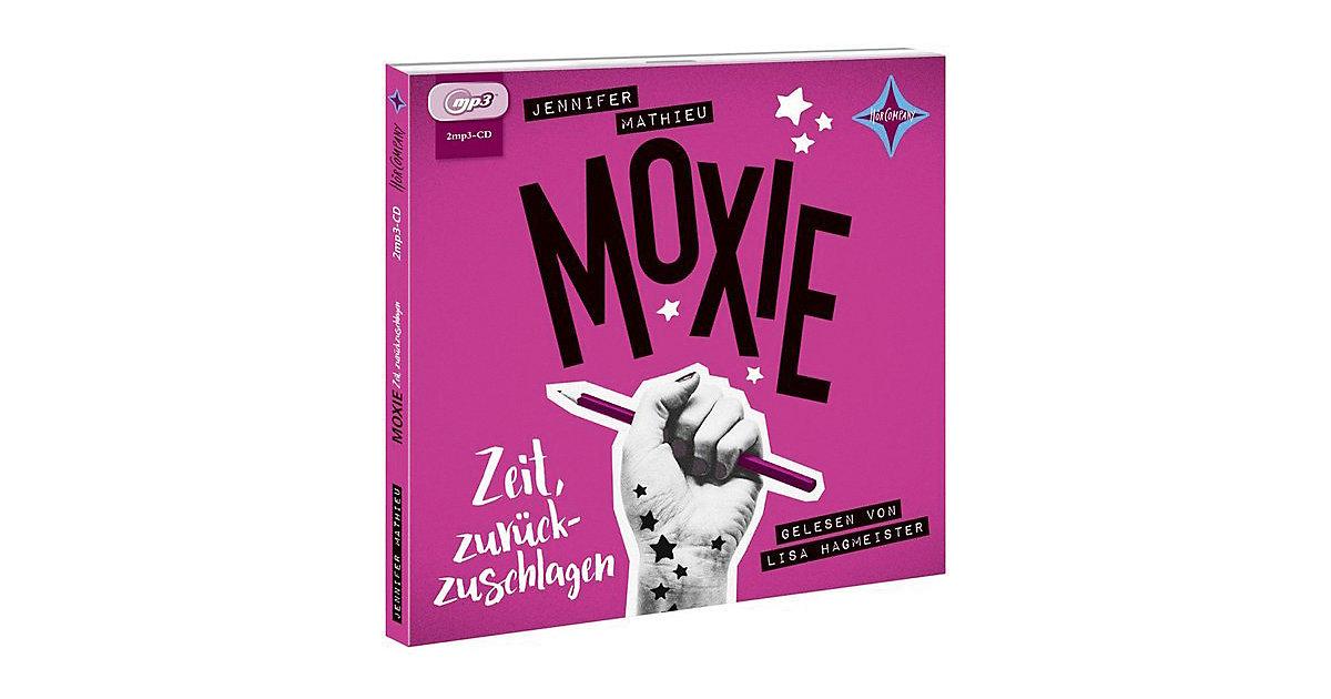 MOXIE: Zeit, zurückzuschlagen, 2 MP3-CDs Hörbuch