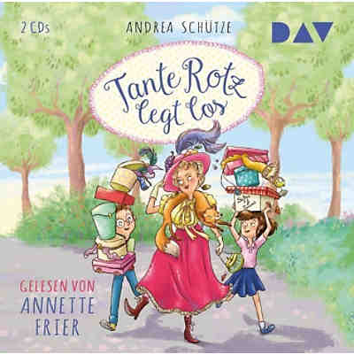 Tante Rotz legt los, 2 Audio-CDs