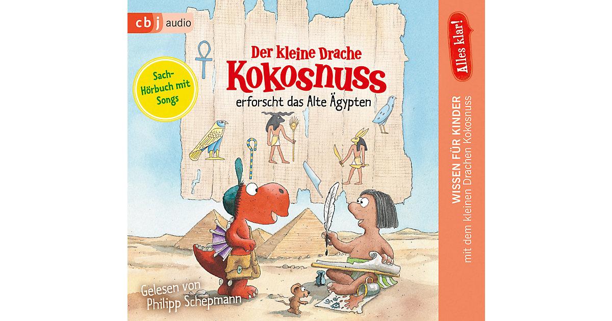 Alles klar! Der kleine Drache Kokosnuss erforscht das Alte Ägypten, 1 Audio-CD Hörbuch