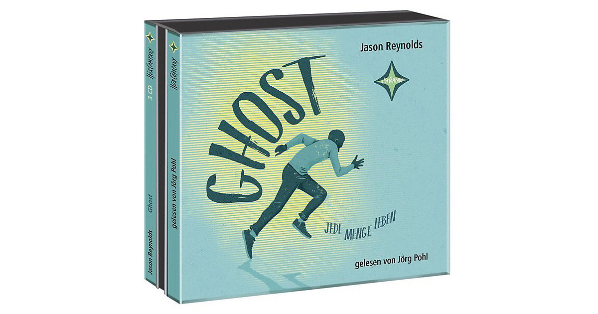 Ghost: Jede Menge Leben, 3 Audio-CDs Hörbuch