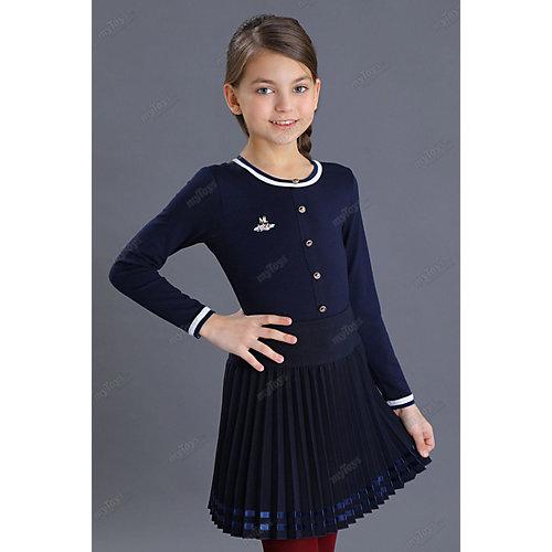 Блузка Маленькая леди - синий от Маленькая Леди