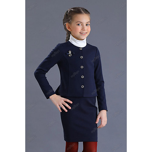 Жакет Маленькая леди - синий от Маленькая Леди