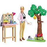 """Игровой набор Barbie """"Кем быть?"""" National Geographic Исследователь бабочек"""