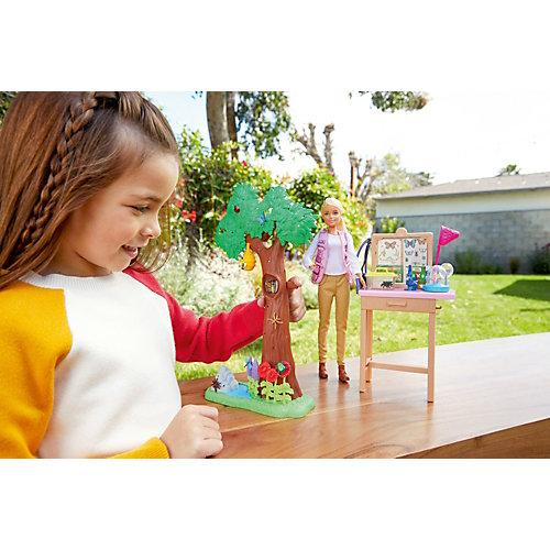 """Игровой набор Barbie """"Кем быть?"""" National Geographic Исследователь бабочек от Mattel"""