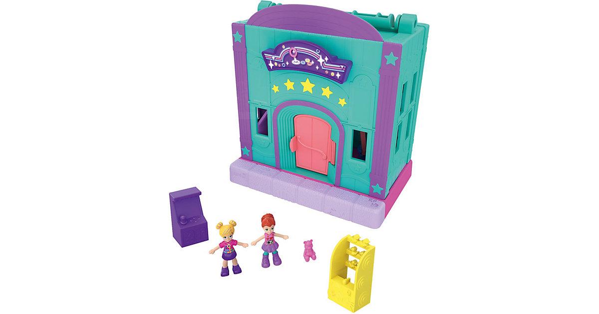 Polly Pocket Pollyville Spielhalle bunt