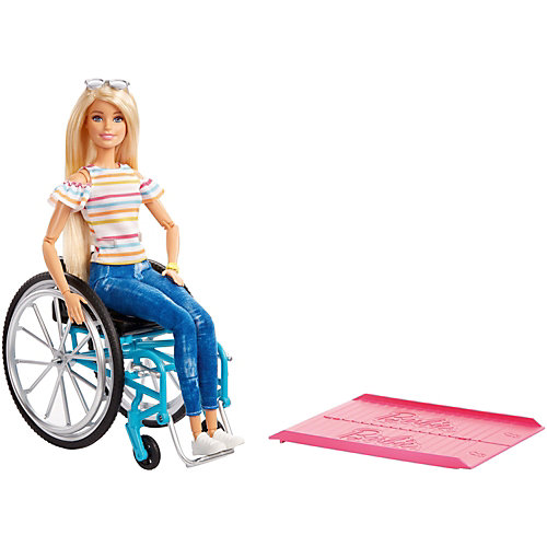 Кукла Barbie в инвалидной коляске от Mattel