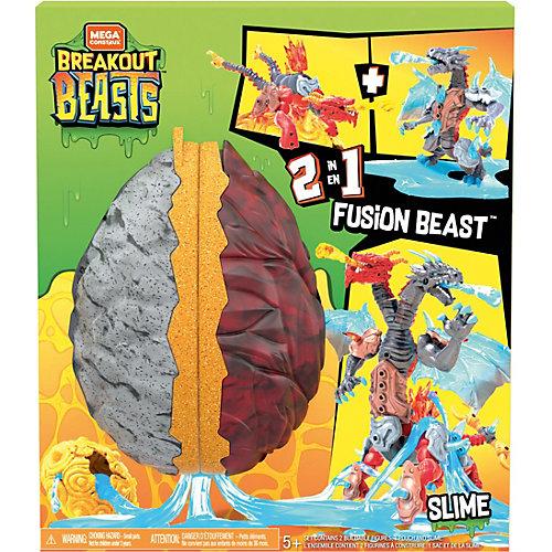 Игровой набор 2 в 1 Mega Construx Breakout Beasts Битва удивительных существ от Mattel