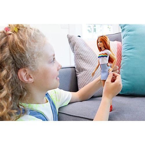 """Кукла Barbie """"Игра с модой"""" Радужный восторг от Mattel"""