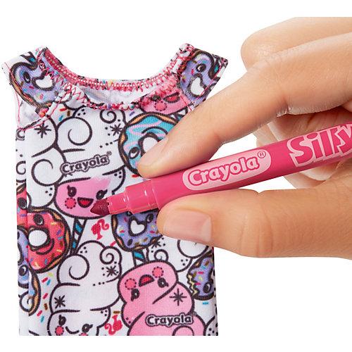Игровой набор Barbie Crayola Кукла с одеждой и ароматными фломастерами от Mattel