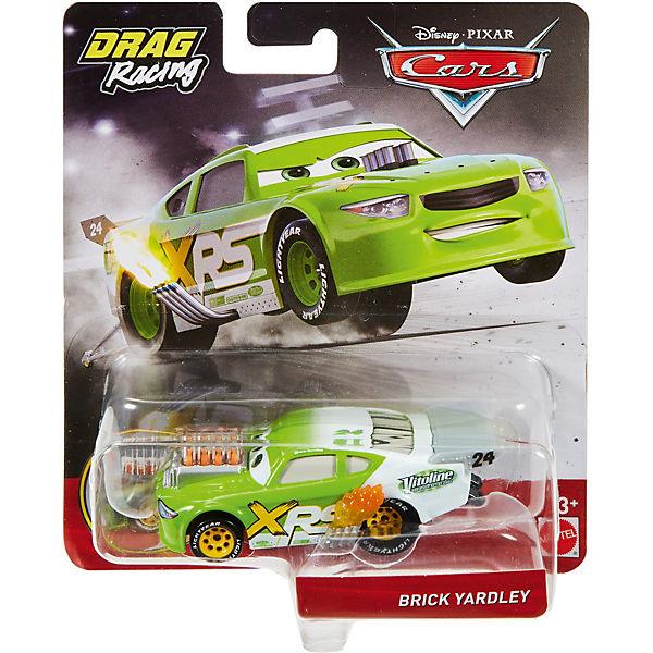 Disney Cars Xtreme Racing Serie Dragster-Rennen Die-Cast Brick Yardley