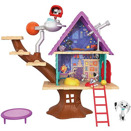 """Игровой набор Disney """"Улица 101 Далматинца"""" Домик на дереве от Mattel"""