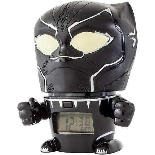 Будильник Kids Time BulbBotz Marvel «Черная пантера» минифигура от Детское время
