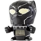 Будильник Kids Time BulbBotz Marvel «Черная пантера» минифигура