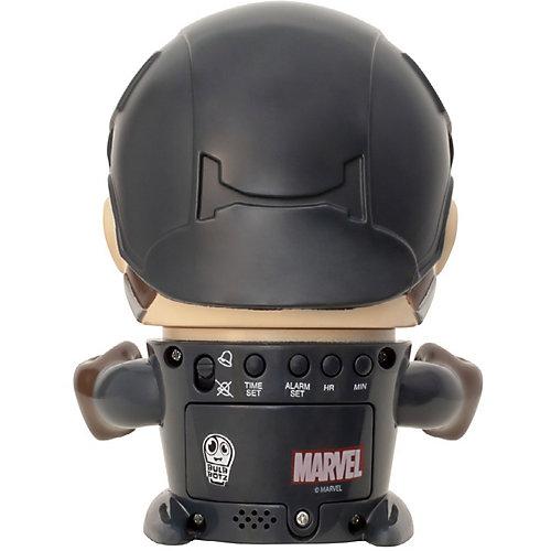 Будильник Kids Time BulbBotz Marvel «Капитан Америка» минифигура