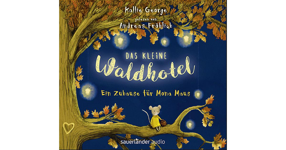 Das kleine Waldhotel: Ein Zuhause Mona Maus, 2 Audio-CDs Hörbuch  Kinder