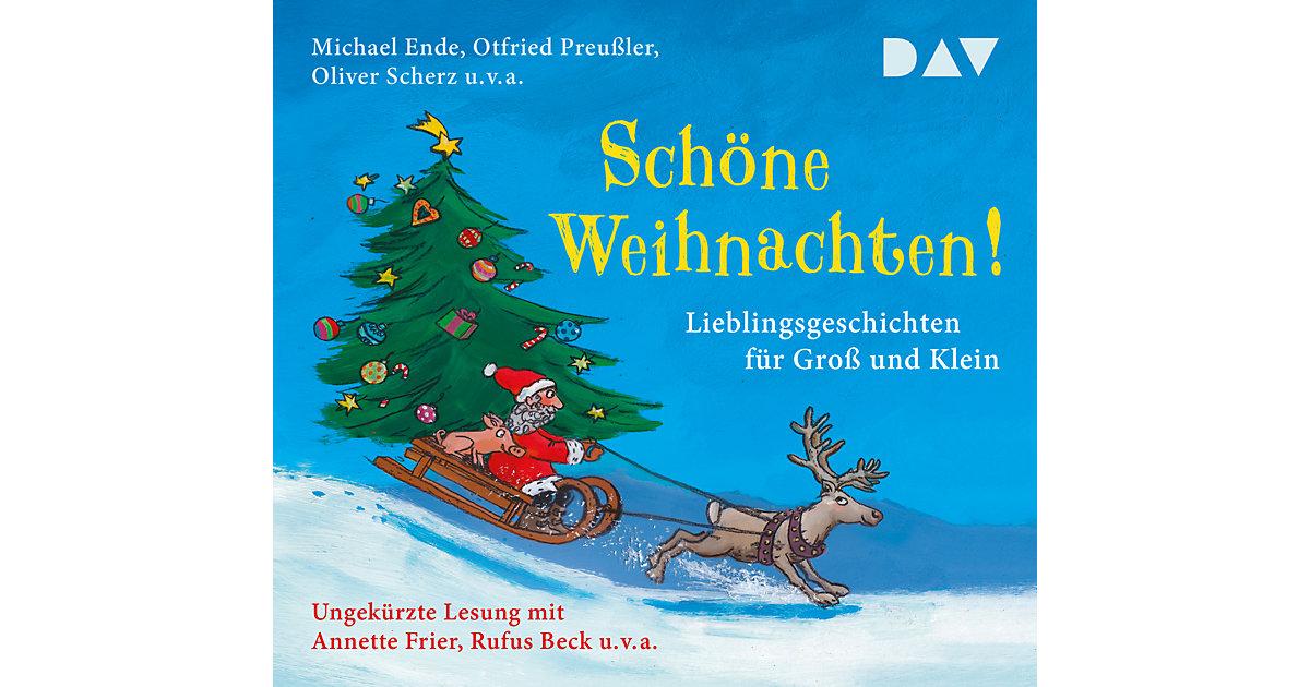 Schöne Weihnachten! Lieblingsgeschichten Groß und Klein, 3 Audio-CDs Hörbuch  Kinder