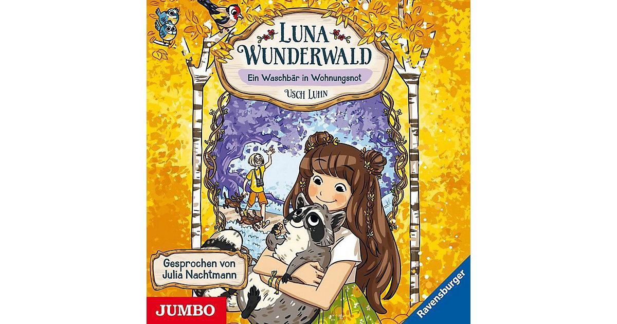 Luna Wunderwald: Ein Waschbär in Wohnungsnot, 1 Audio-CD Hörbuch