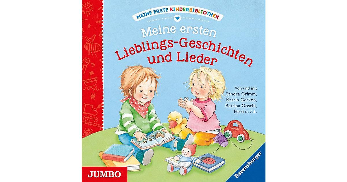 Meine erste Kinderbibliothek: Meine ersten Lieblings-Geschichten und Lieder, 1 Audio-CD Hörbuch