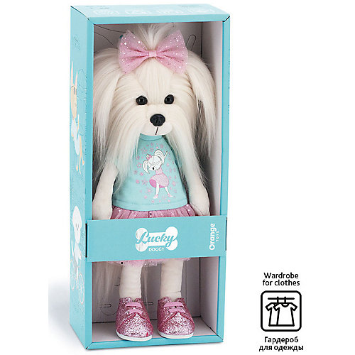 Мягкая игрушка Orange Lucky Doggy Собака Mimi: Мимишный дэб, 25 см от Orange