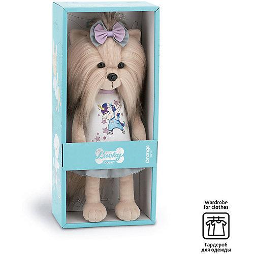 Мягкая игрушка Orange Lucky Doggy Собака Yoyo: Юникорн дэб, 25 см от Orange