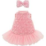 Набор одежды Orange Lucky Doggy: Розовый микс, 25 см