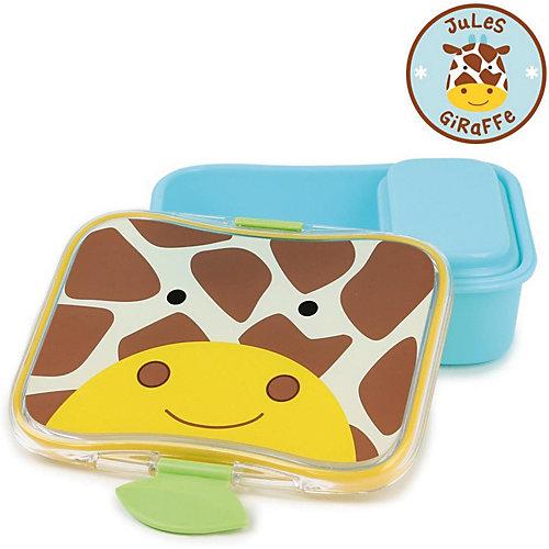 "Набор контейнеров для завтрака Skip Hop Zoo Lunch Kit ""Жираф"" - коричнево-оранжевый от Skip Hop"