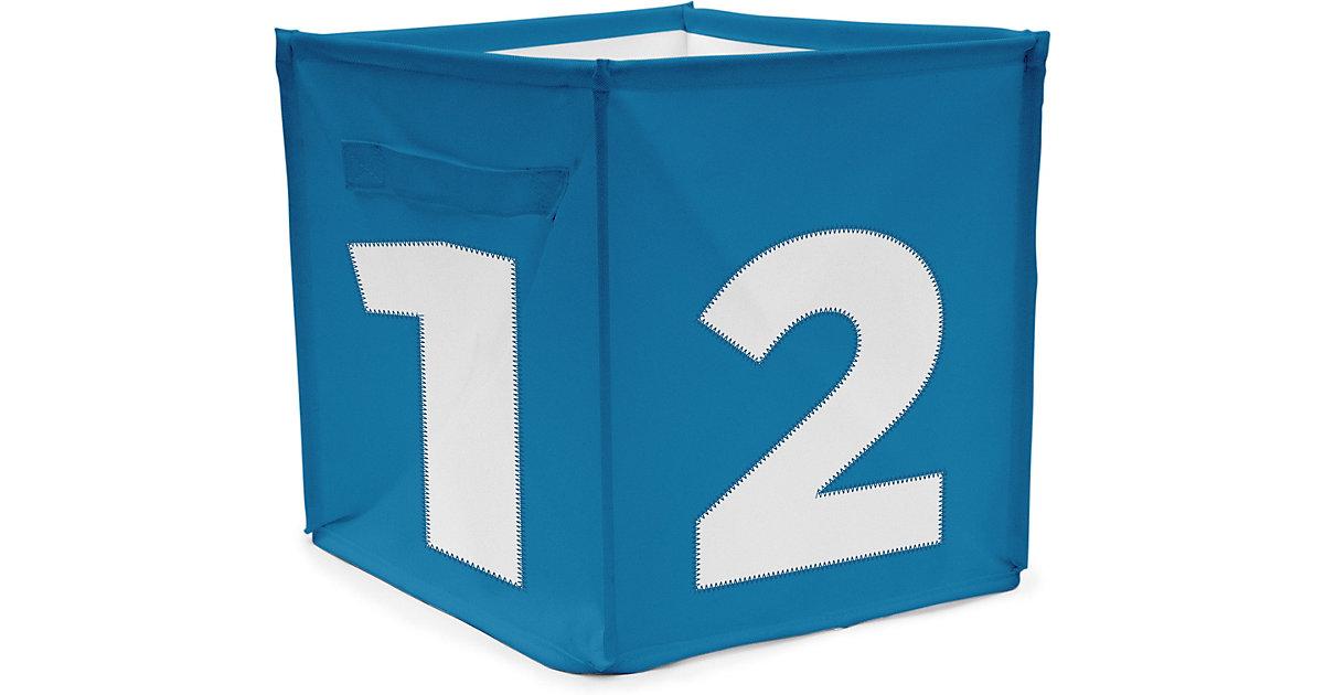 Image of Aufbewahrungsbox Würfel - blau