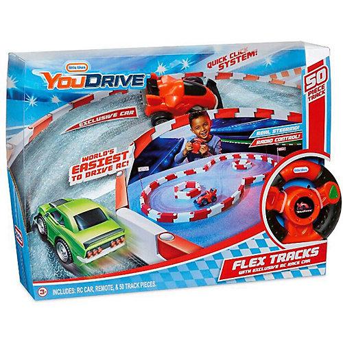 """Набор Little Tikes You Drive Flex """"Гоночная полоса и красный спорткар"""""""