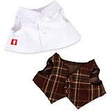 Комплект одежды Budi Basa для Зайки Ми-мальчика, 25 см, белая рубашка и жилет