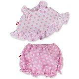 Комплект одежды Budi Basa для Зайки Ми, 25 см, розовая пижама