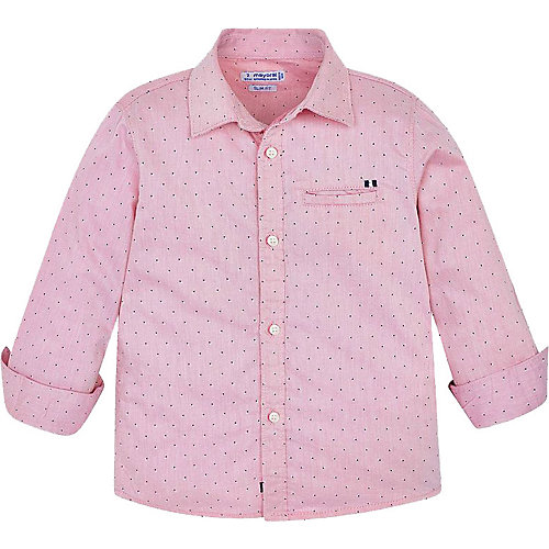 Рубашка Mayoral - блекло-розовый от Mayoral
