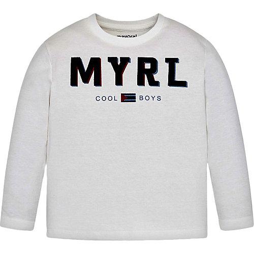 Лонгслив Mayoral - белый от Mayoral