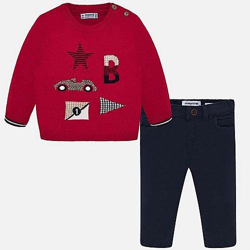 Комплект Mayoral: свитер и брюки - черный от Mayoral