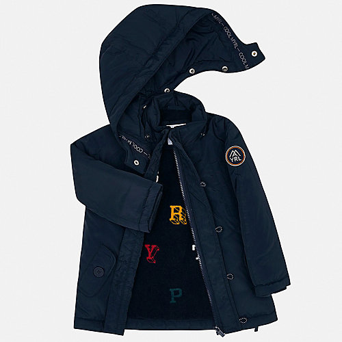 Демисезонная куртка Mayoral - темно-серый от Mayoral