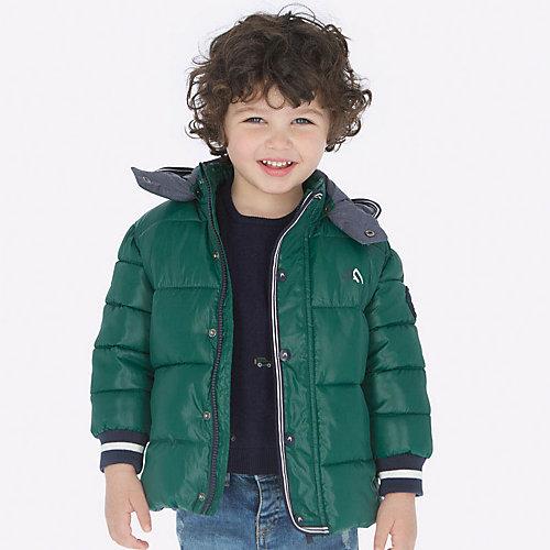 Демисезонная куртка Mayoral - зеленый от Mayoral
