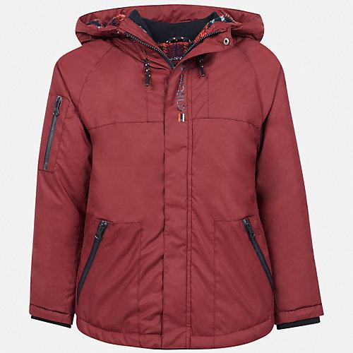 Демисезонная куртка Mayoral - бордовый от Mayoral