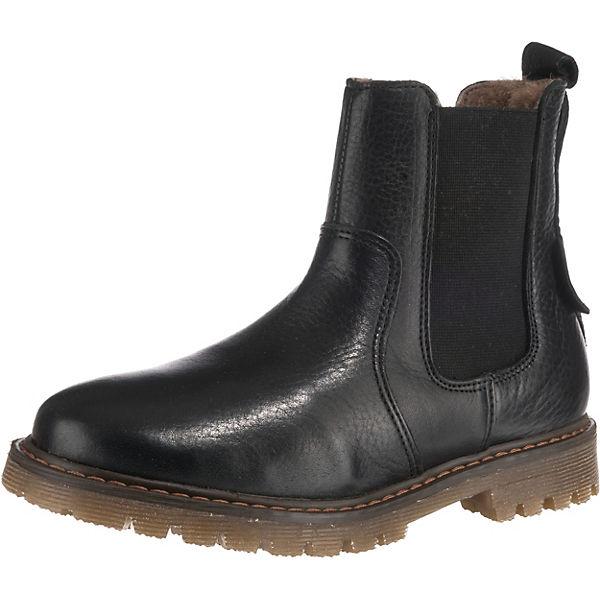 new arrivals 1f8b8 5159b Kinder Chelsea Boots mit Lammfell, bisgaard